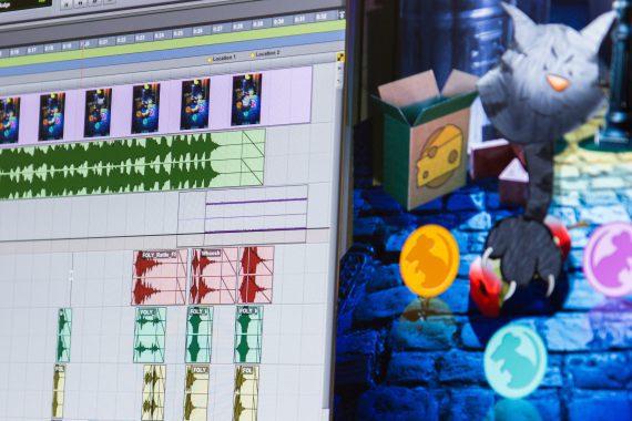 Sound design In de Gymzaal