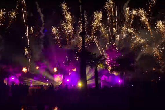 Vuurwerkshow Toverland